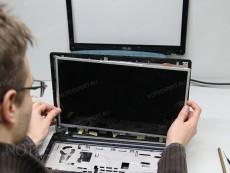 сборка монитора ноутбука